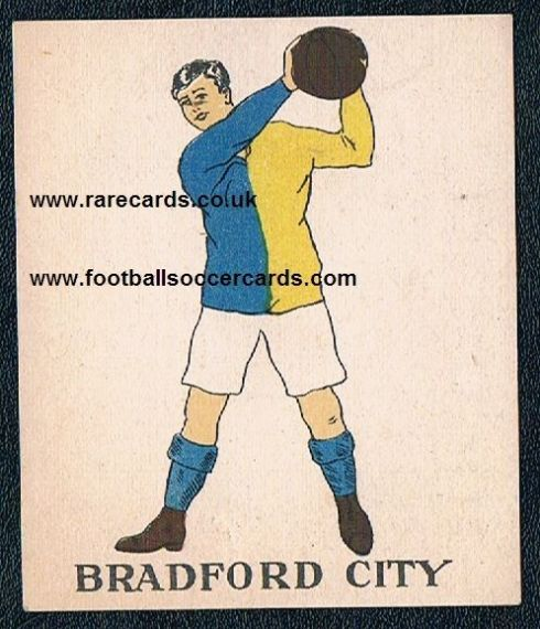 1923 Bradford City type III Battocks